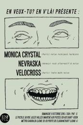 Monica Crystal - Nevraska - Velocross - en veux tu en vla